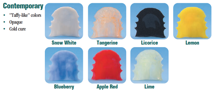 Hua Cheng Orthodontic Lab - RETAINER COLOR CHART